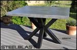 table beton cire