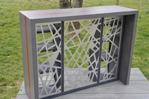 table basse beton cire
